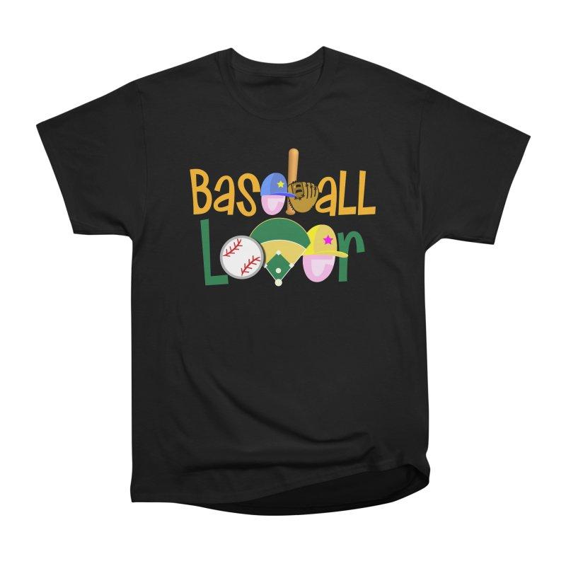 Baseball Lover Women's Heavyweight Unisex T-Shirt by PickaCS's Artist Shop