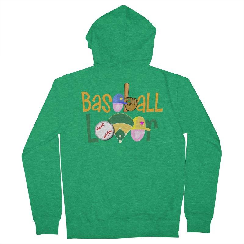 Baseball Lover Women's Zip-Up Hoody by PickaCS's Artist Shop