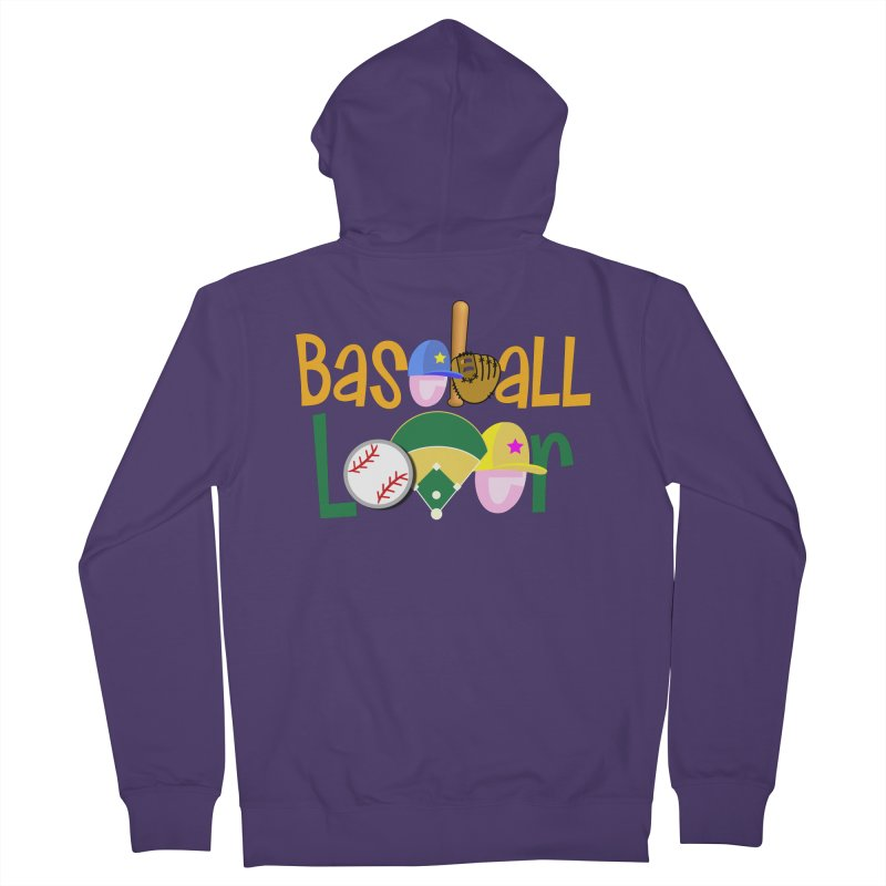 Baseball Lover Women's Zip-Up Hoody by PickaCS's Artist Shop