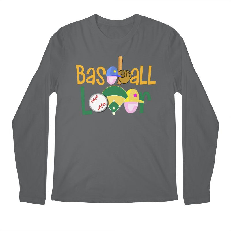 Baseball Lover Men's Regular Longsleeve T-Shirt by PickaCS's Artist Shop