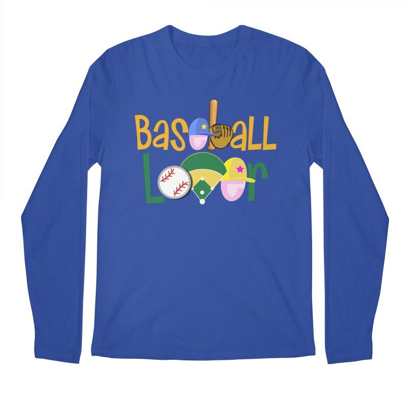 Baseball Lover Men's Longsleeve T-Shirt by PickaCS's Artist Shop