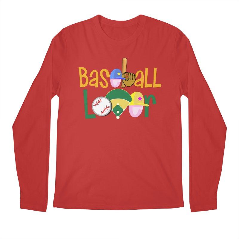 Baseball Lover Men's Regular Longsleeve T-Shirt by PickaCS's Artist Shop