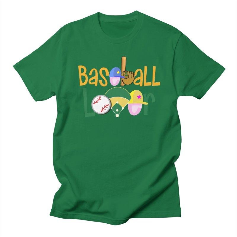 Baseball Lover Men's Regular T-Shirt by PickaCS's Artist Shop