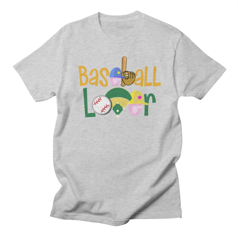 Baseball Lover Women's Regular Unisex T-Shirt by PickaCS's Artist Shop