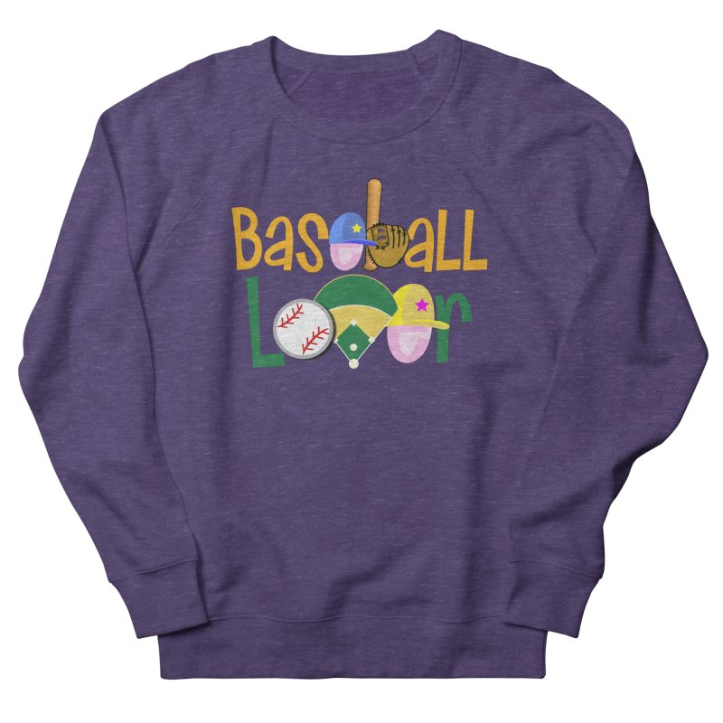 Baseball Lover Men's French Terry Sweatshirt by PickaCS's Artist Shop