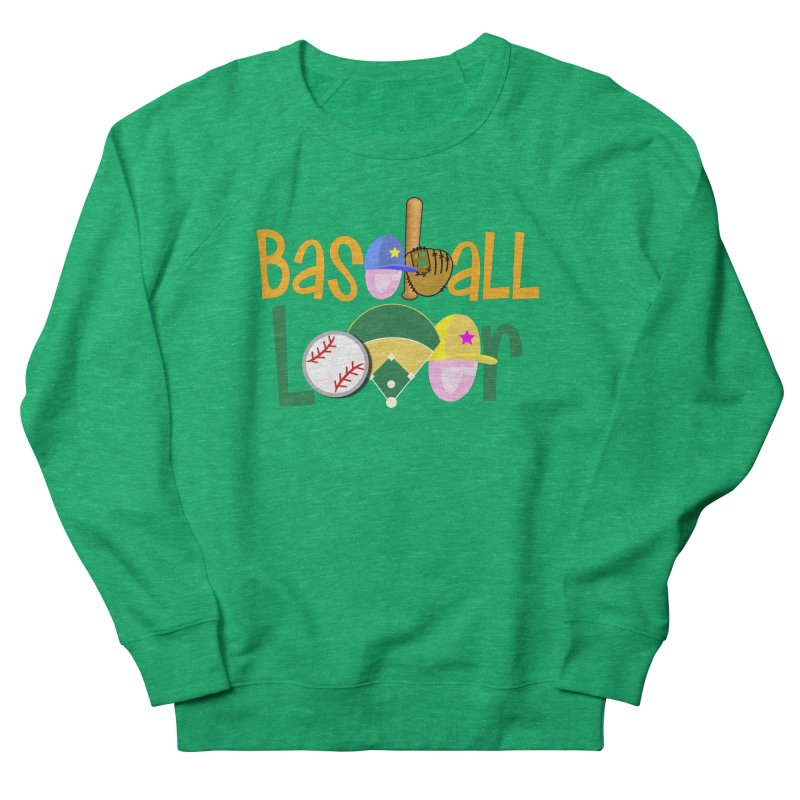 Baseball Lover Men's French Terry Sweatshirt by PickaCS's Artist Shop