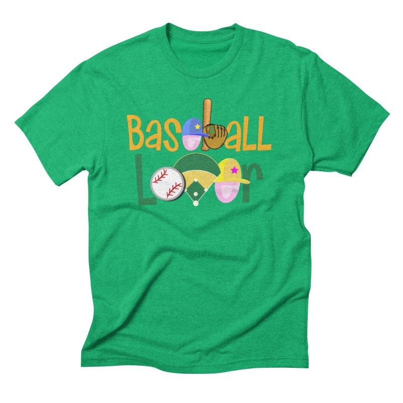 Baseball Lover Men's Triblend T-Shirt by PickaCS's Artist Shop