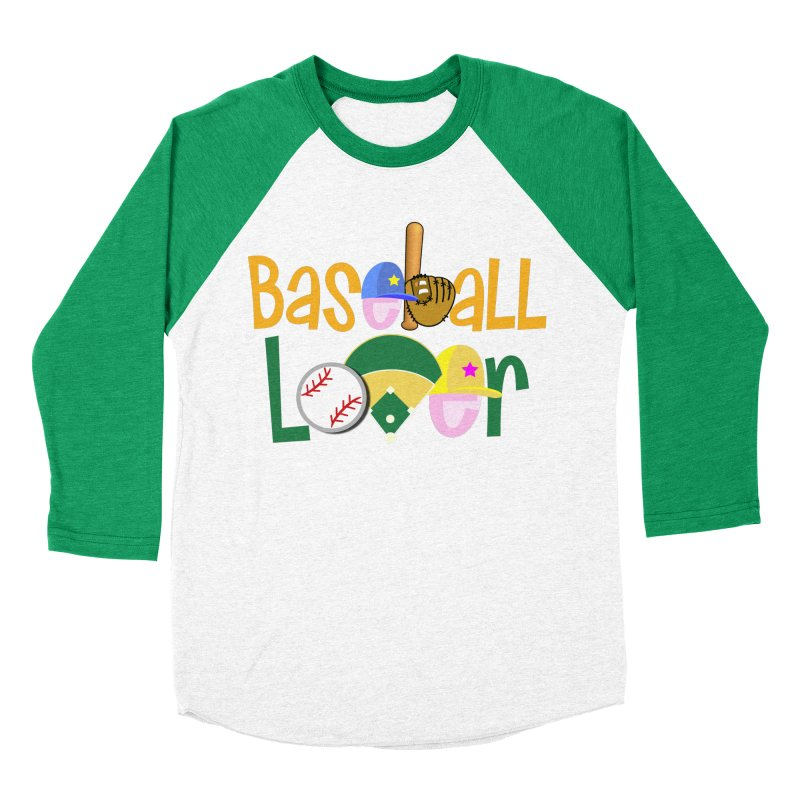 Baseball Lover Women's Baseball Triblend Longsleeve T-Shirt by PickaCS's Artist Shop