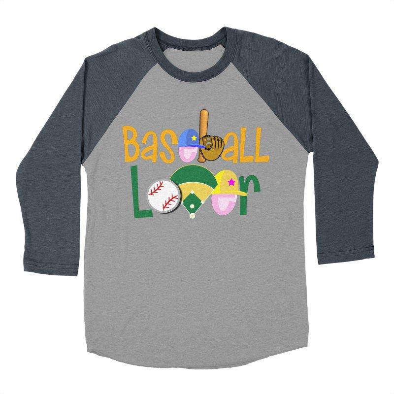 Baseball Lover Women's Baseball Triblend Longsleeve T-Shirt by PickaCS's Artist Shop