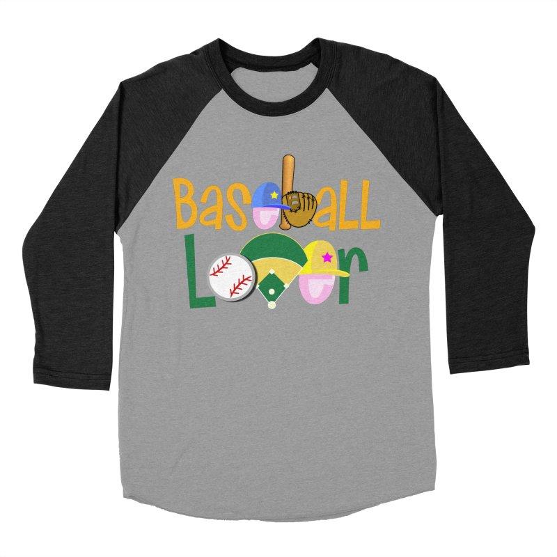 Baseball Lover Men's Baseball Triblend Longsleeve T-Shirt by PickaCS's Artist Shop