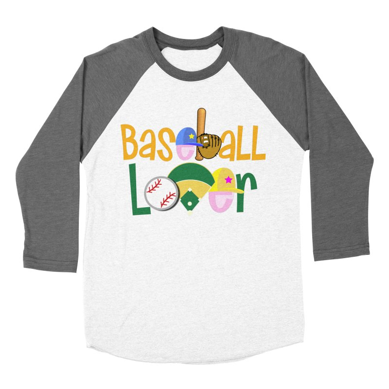 Baseball Lover Men's Baseball Triblend Longsleeve T-Shirt by PickaCS's Artist Shop