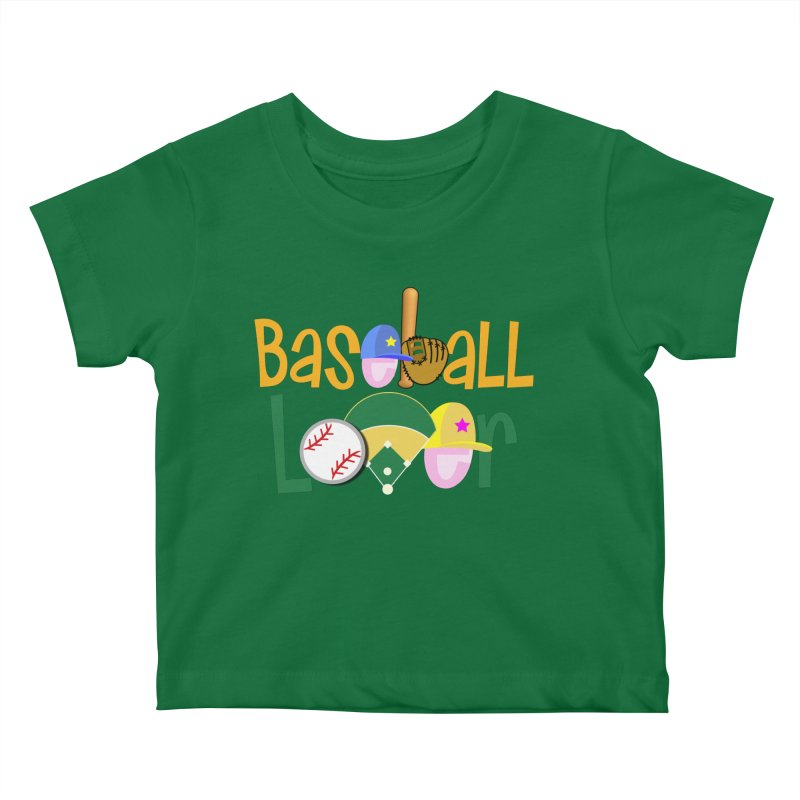 Baseball Lover Kids Baby T-Shirt by PickaCS's Artist Shop