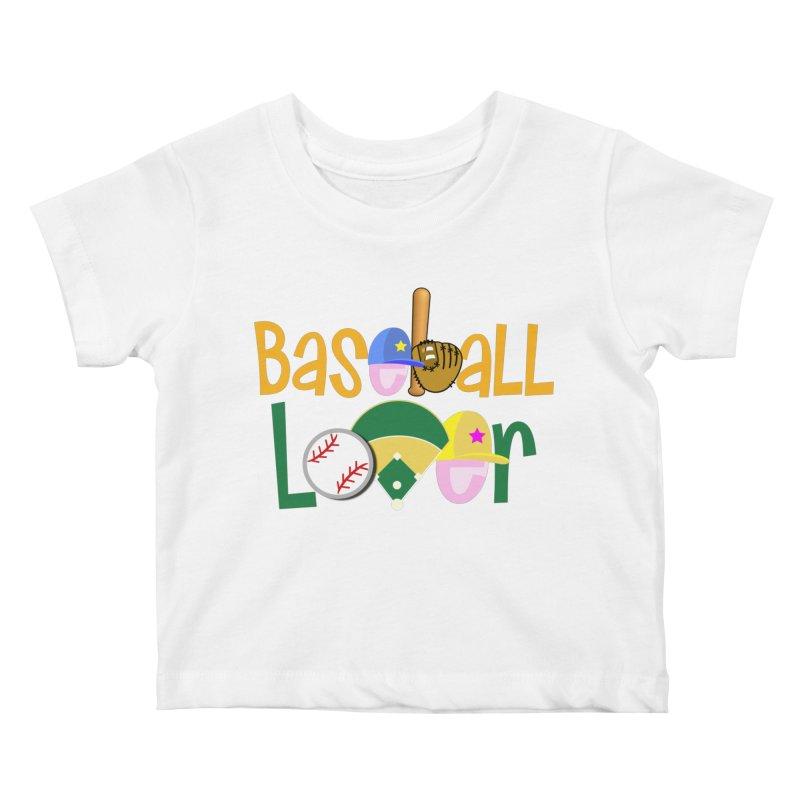 Baseball Lover Kids Baby T-Shirt by PickaCS's Artist Shop