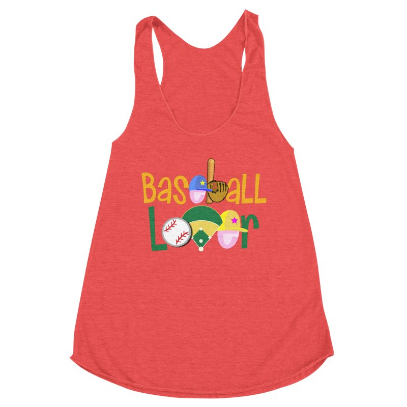 Baseball Lover Women's Tank by PickaCS's Artist Shop