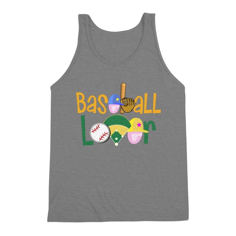 Baseball Lover Men's Tank by PickaCS's Artist Shop