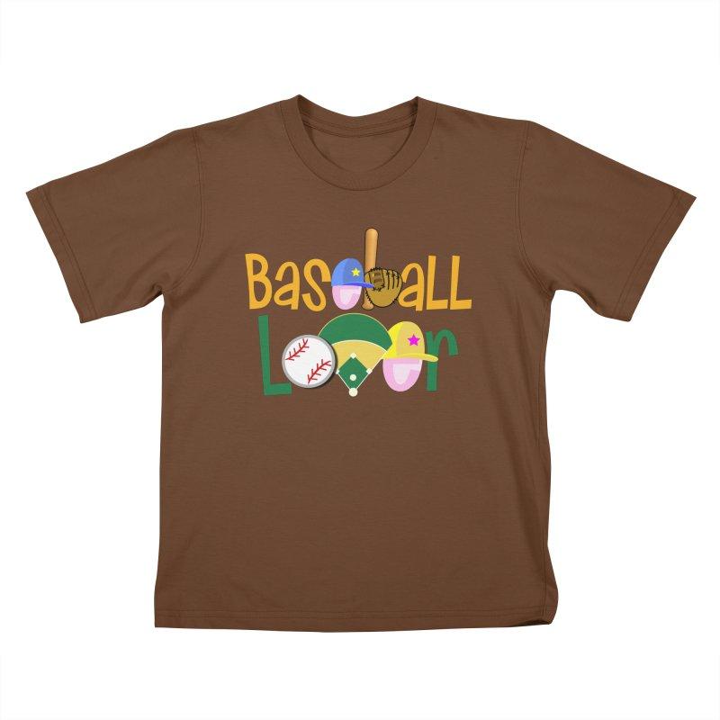 Baseball Lover Kids T-Shirt by PickaCS's Artist Shop