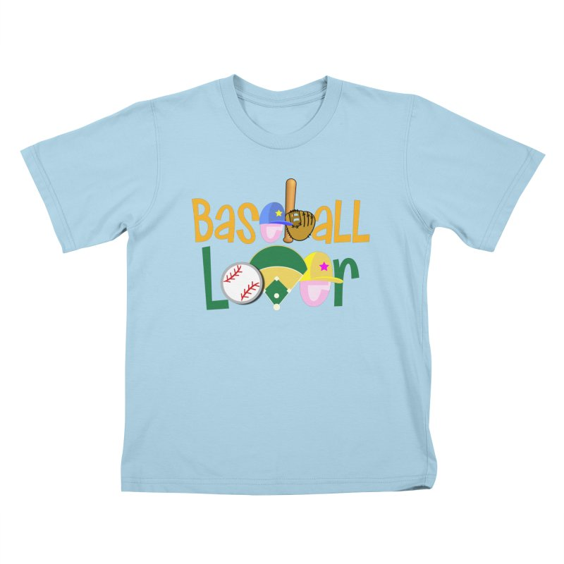 Baseball Lover Kids T-Shirt by PickaCS's Artist Shop
