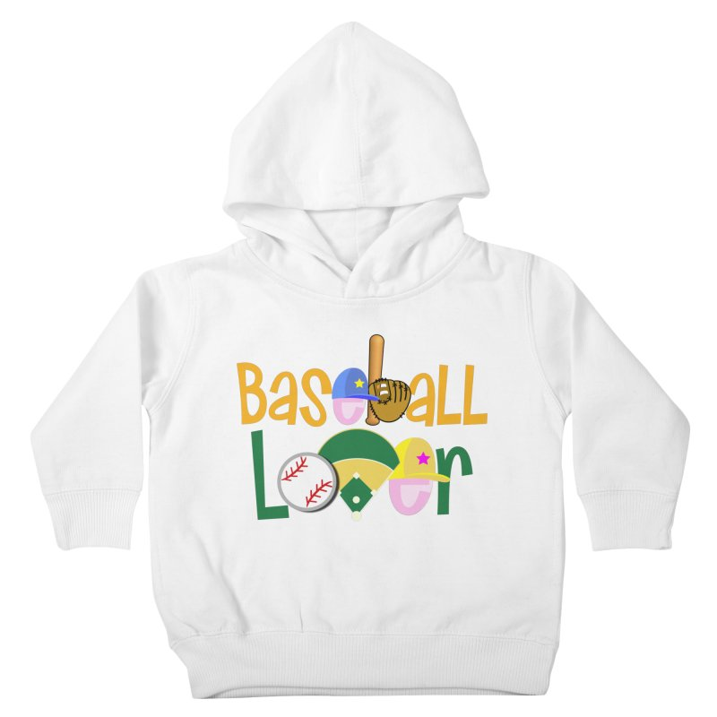 Baseball Lover Kids Toddler Pullover Hoody by PickaCS's Artist Shop