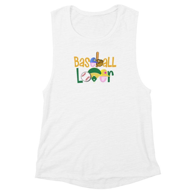 Baseball Lover Women's Muscle Tank by PickaCS's Artist Shop
