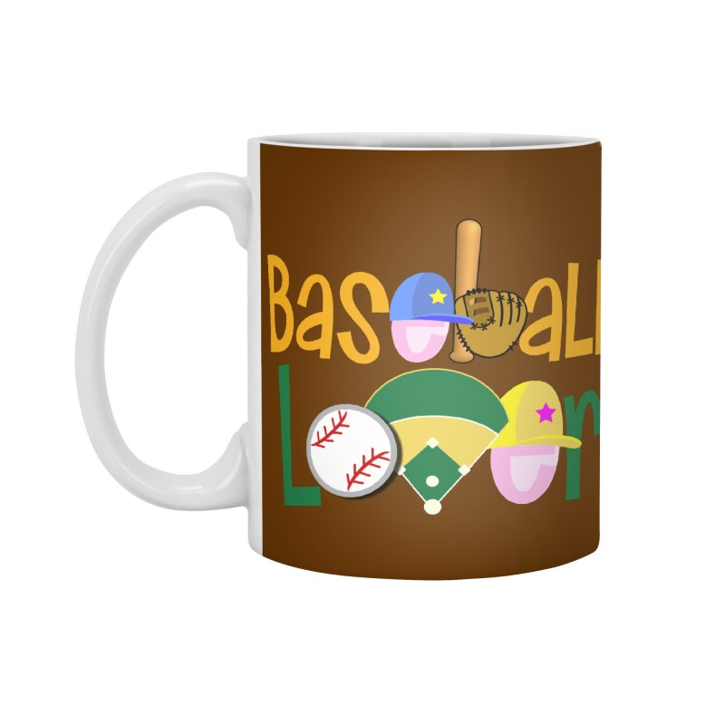 Baseball Lover Accessories Standard Mug by PickaCS's Artist Shop