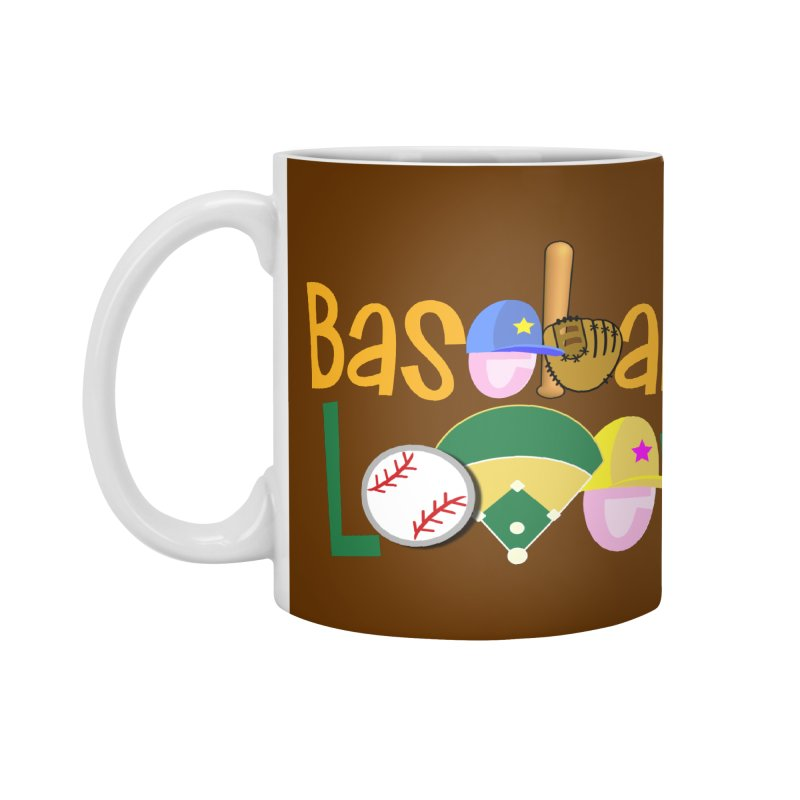Baseball Lover Accessories Mug by PickaCS's Artist Shop