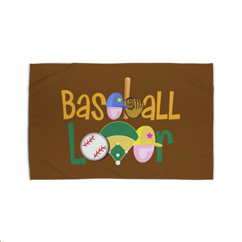 Baseball Lover Home Rug by PickaCS's Artist Shop