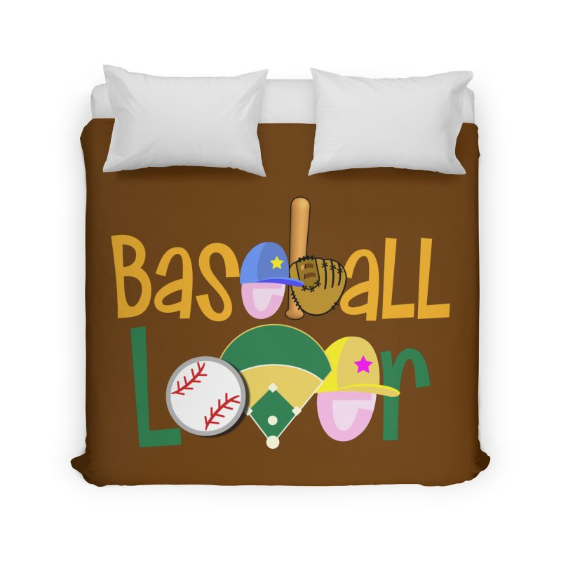 Baseball Lover Home Duvet by PickaCS's Artist Shop