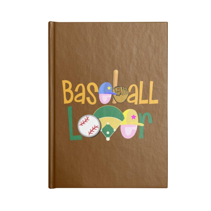 Baseball Lover Accessories Notebook by PickaCS's Artist Shop