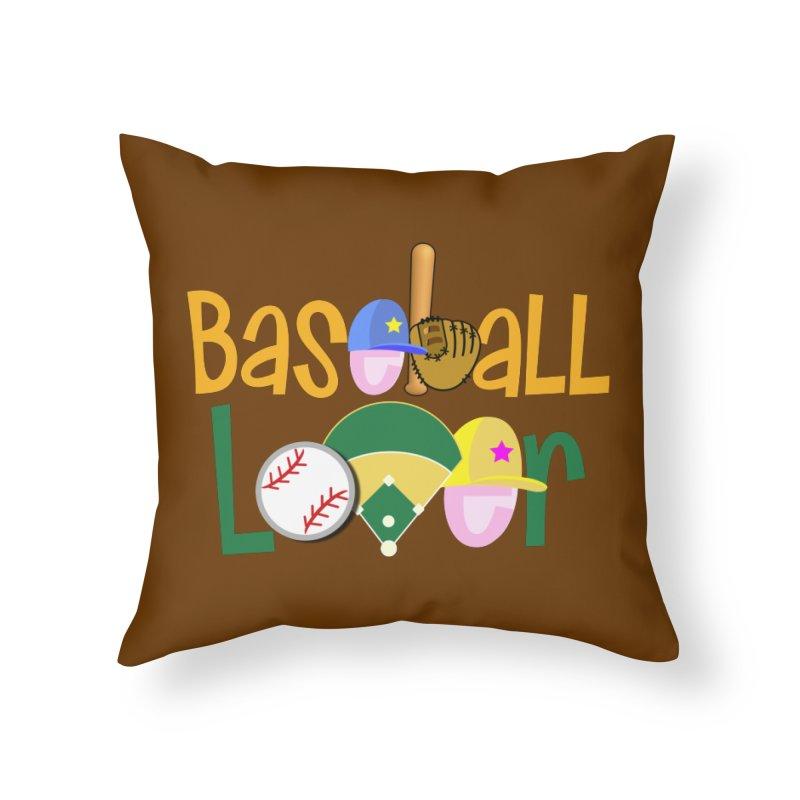 Baseball Lover Home Throw Pillow by PickaCS's Artist Shop