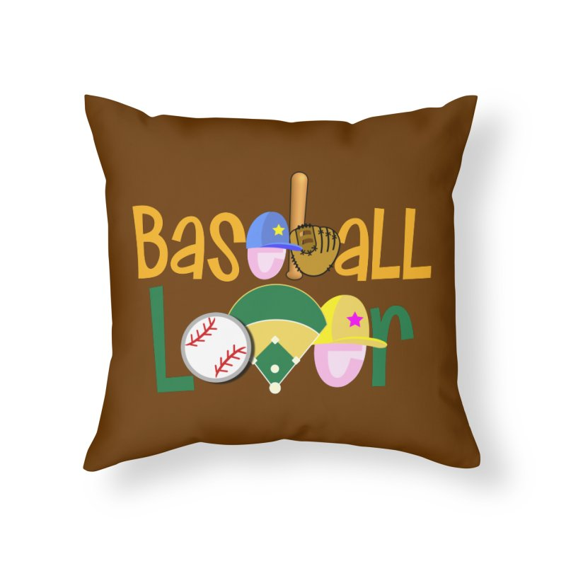 Baseball Lover Home Throw Pillow by PickaCS's Artist Shop