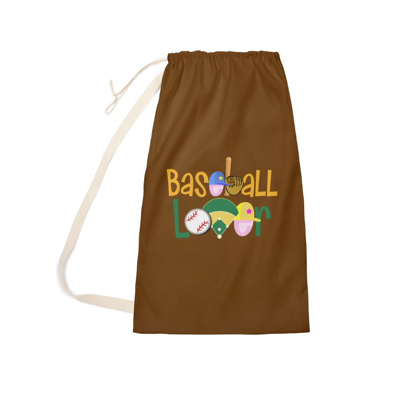 Baseball Lover Accessories Laundry Bag Bag by PickaCS's Artist Shop