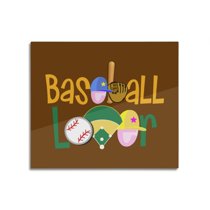 Baseball Lover Home Mounted Acrylic Print by PickaCS's Artist Shop