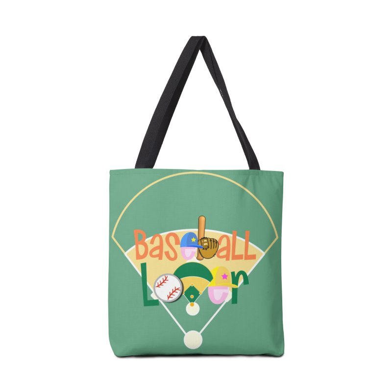 Baseball Lover Accessories Tote Bag Bag by PickaCS's Artist Shop