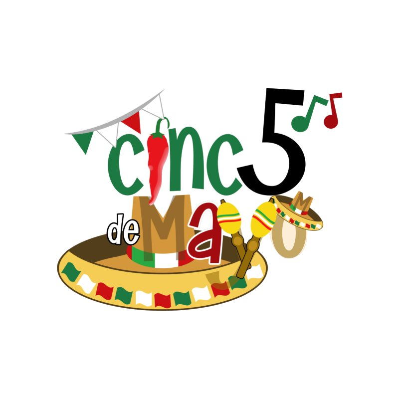 Cinco de Mayo Accessories Phone Case by PickaCS's Artist Shop