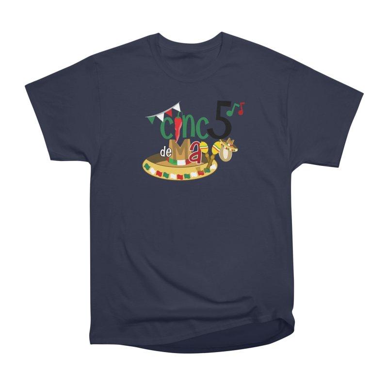 Cinco de Mayo Men's Heavyweight T-Shirt by PickaCS's Artist Shop
