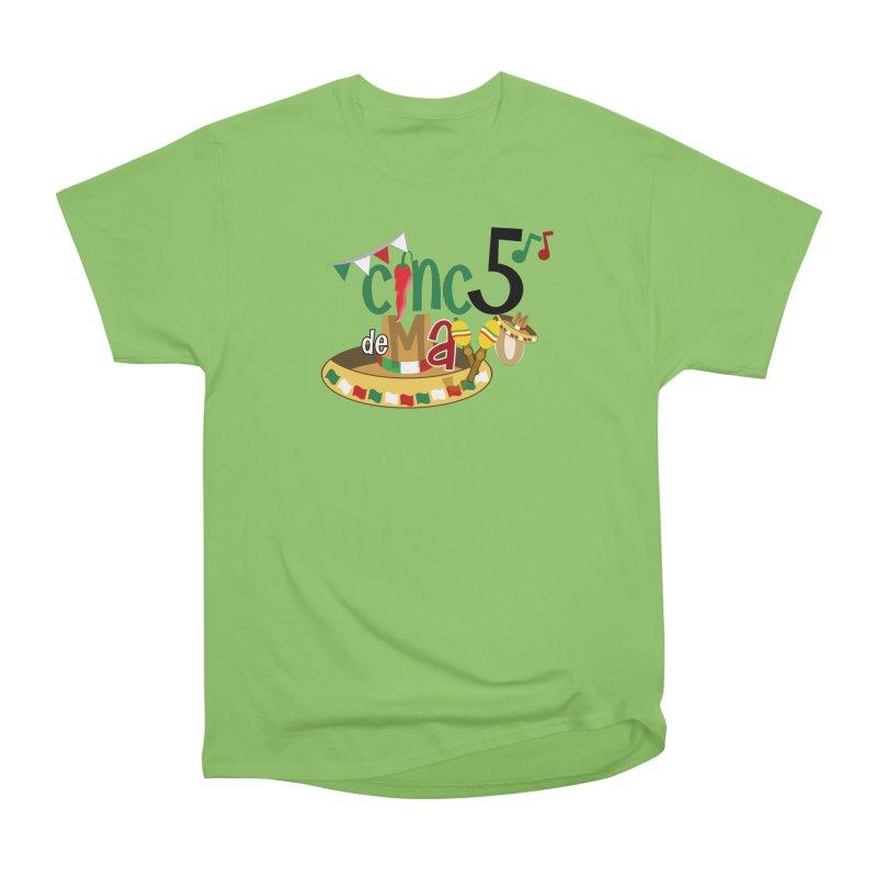 Cinco de Mayo Women's Heavyweight Unisex T-Shirt by PickaCS's Artist Shop