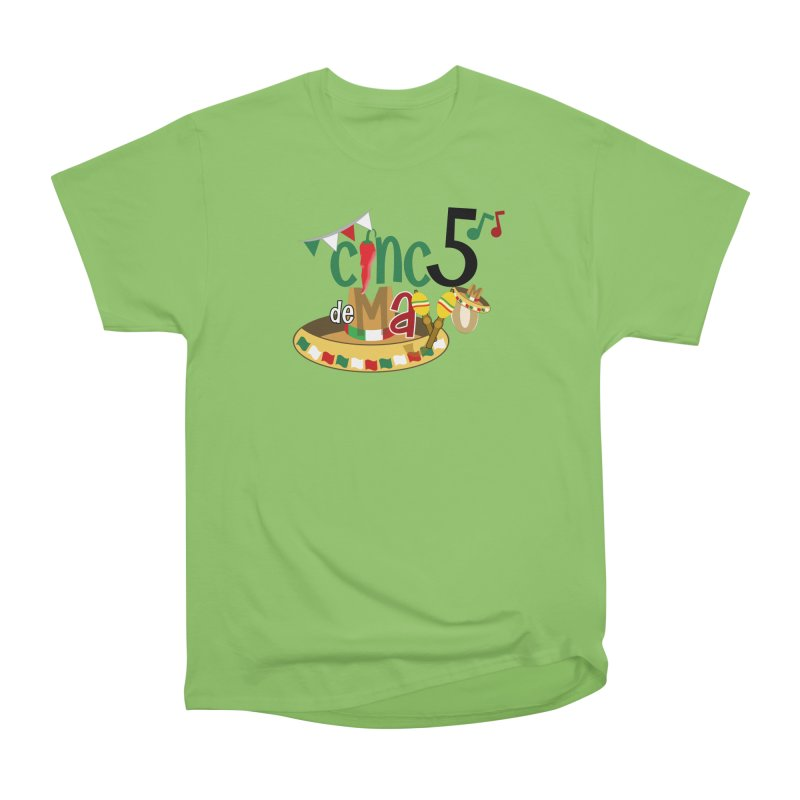 Cinco de Mayo Men's Heavyweight T-Shirt by PickaCS's Artist Shop