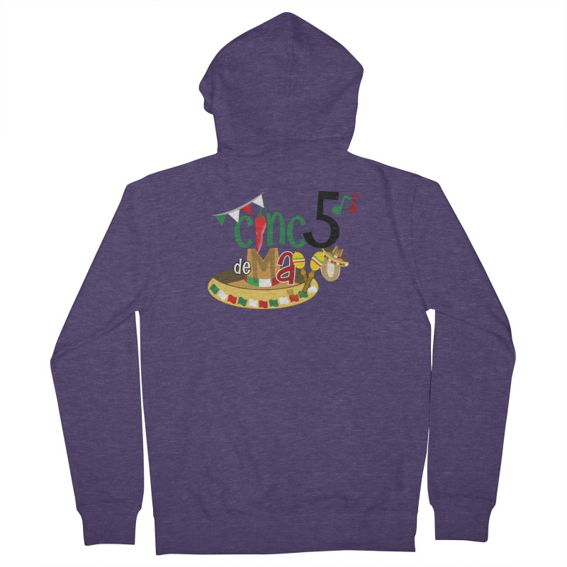 Cinco de Mayo Men's French Terry Zip-Up Hoody by PickaCS's Artist Shop