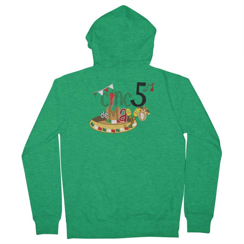 Cinco de Mayo Men's Zip-Up Hoody by PickaCS's Artist Shop