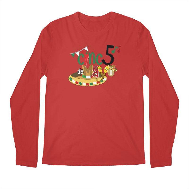 Cinco de Mayo Men's Regular Longsleeve T-Shirt by PickaCS's Artist Shop
