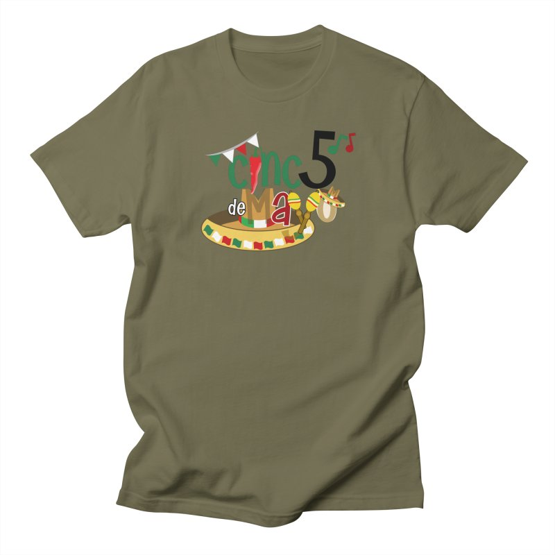 Cinco de Mayo Men's Regular T-Shirt by PickaCS's Artist Shop