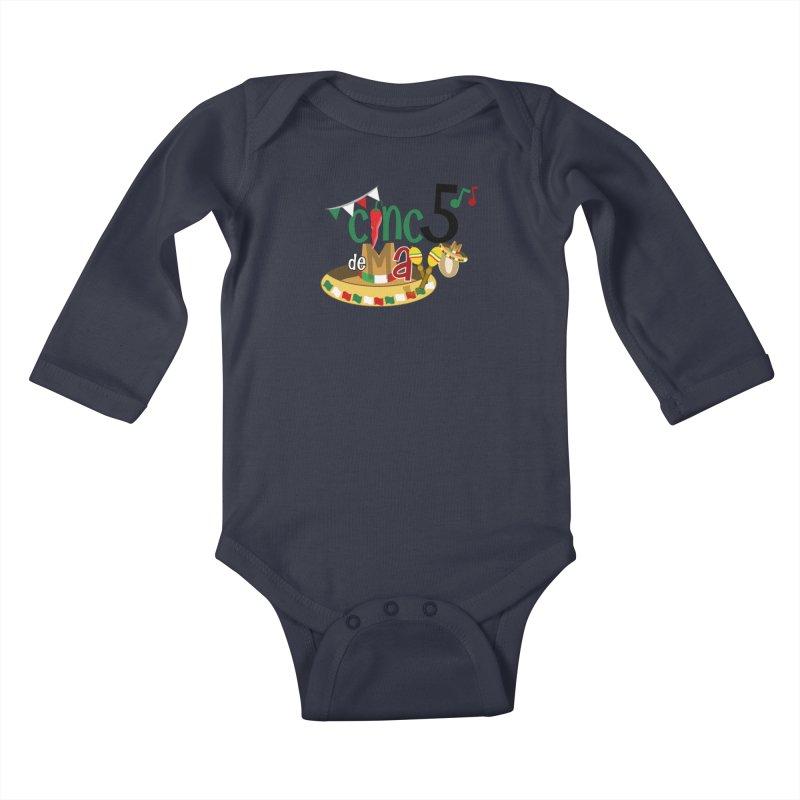 Cinco de Mayo Kids Baby Longsleeve Bodysuit by PickaCS's Artist Shop