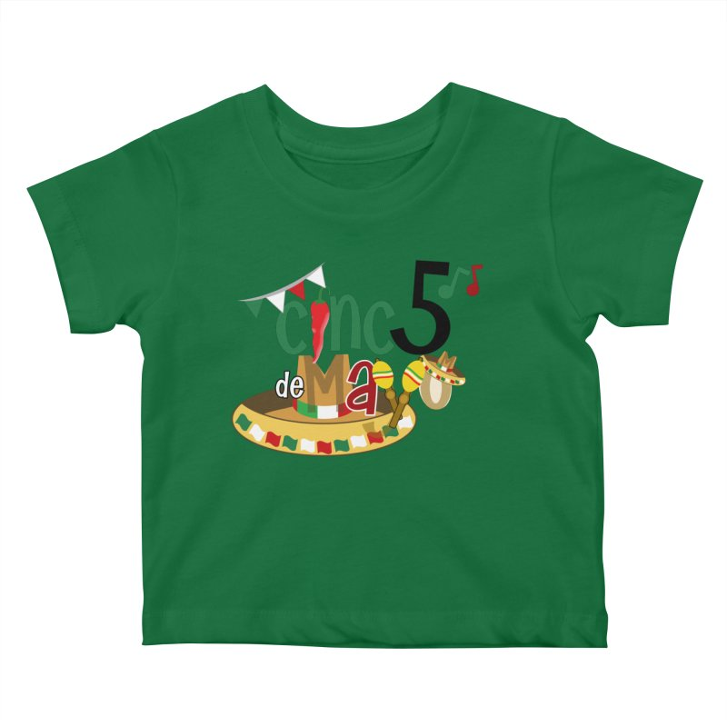 Cinco de Mayo Kids Baby T-Shirt by PickaCS's Artist Shop