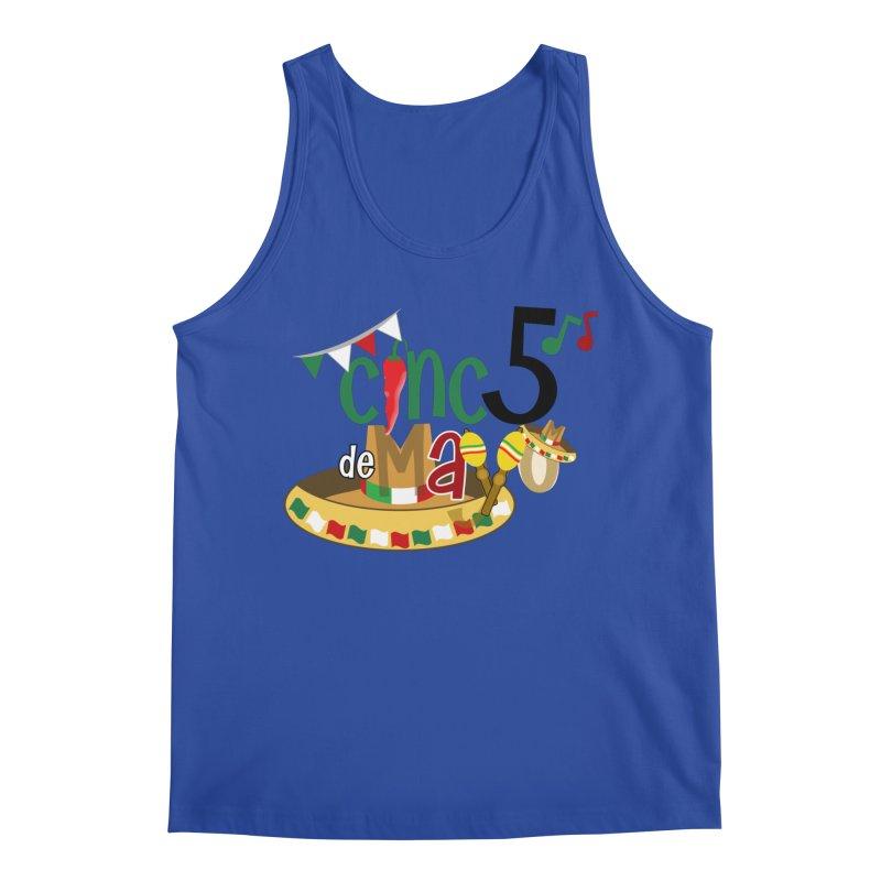 Cinco de Mayo Men's Regular Tank by PickaCS's Artist Shop