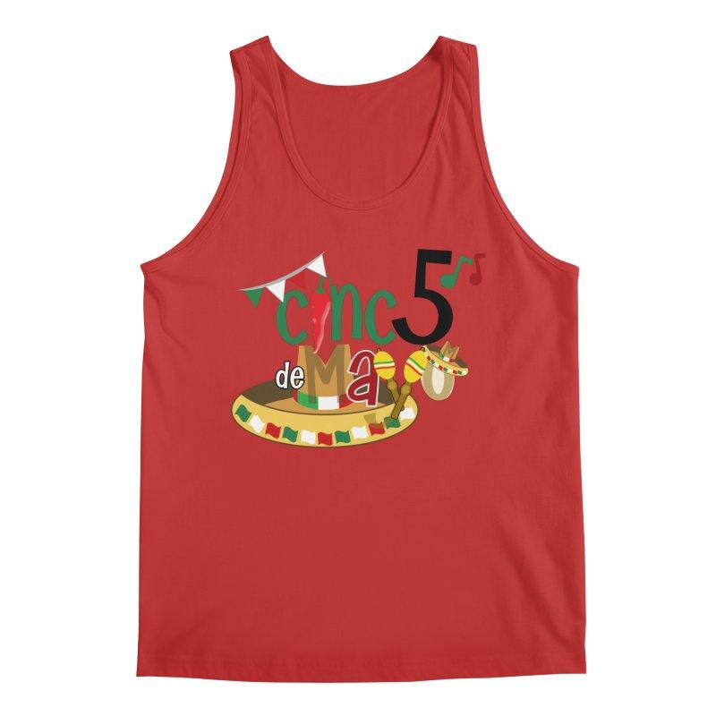 Cinco de Mayo Men's Tank by PickaCS's Artist Shop