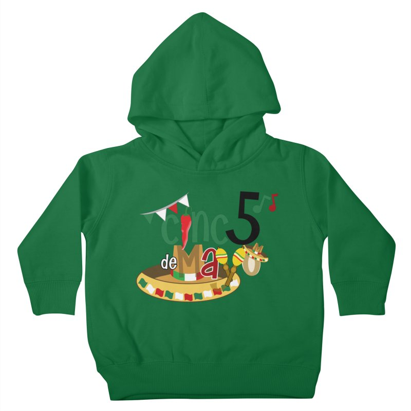 Cinco de Mayo Kids Toddler Pullover Hoody by PickaCS's Artist Shop