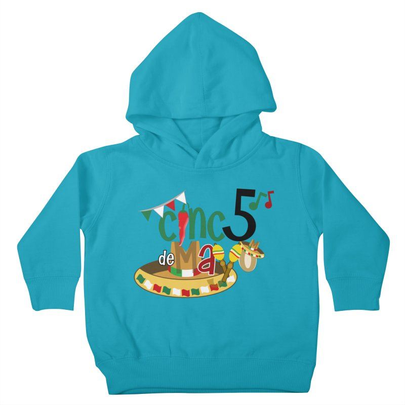 Cinco de Mayo Kids Toddler Pullover Hoody by PickaCS's Artist Shop