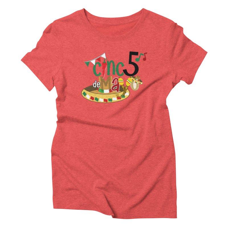 Cinco de Mayo Women's Triblend T-Shirt by PickaCS's Artist Shop