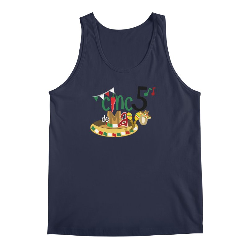 Cinco de Mayo Men's Regular Tank by PickaCS's Artist Shop