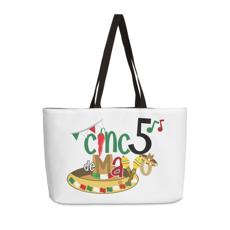 Cinco de Mayo Accessories Weekender Bag Bag by PickaCS's Artist Shop